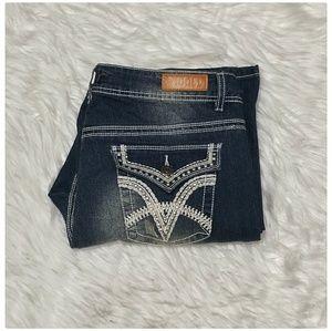 Vigold bootcut stretch plus size jeans sz18 NWOT